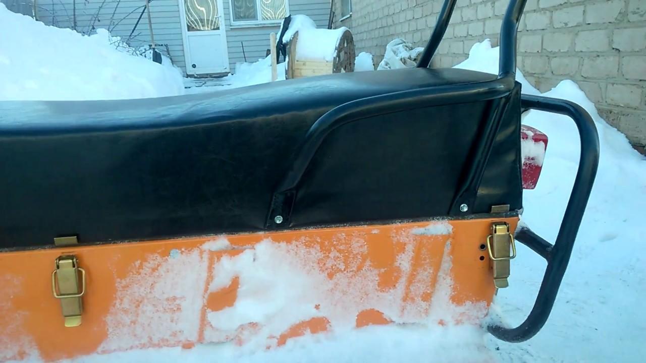 Доработки на снегоход буран своими руками фото 425