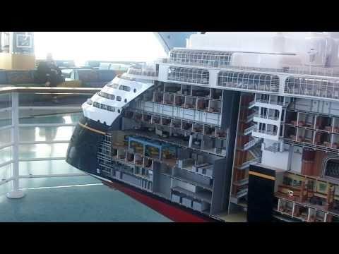 Disney Cruise Ship Wonder Tour Part 1 Hd Youtube
