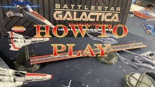 How to Play Battlestar Galactica : Starship Battles (Quick Start)
