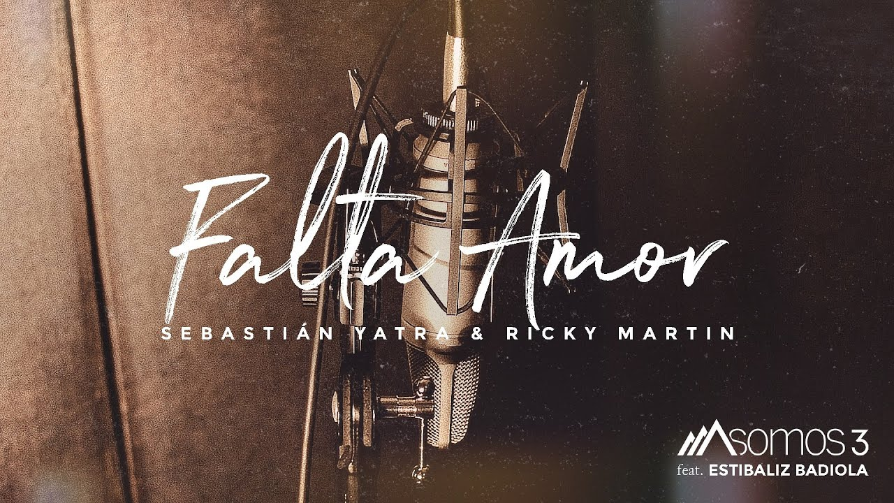 Falta Amor - Sebastián Yatra & Ricky Martin (Cover por Somos 3 Feat. Estibaliz Badiola)