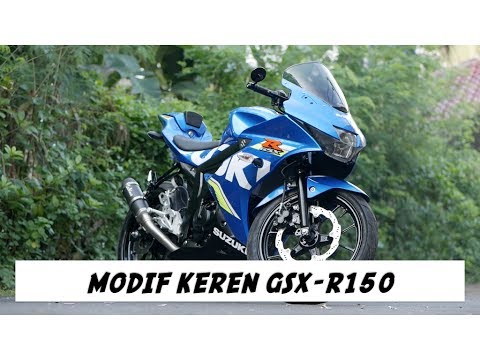 Modifikasi Suzuki GSX-R 150 (Tail tidy, Leo Vince, MRA Windshield) - #motovlog 148