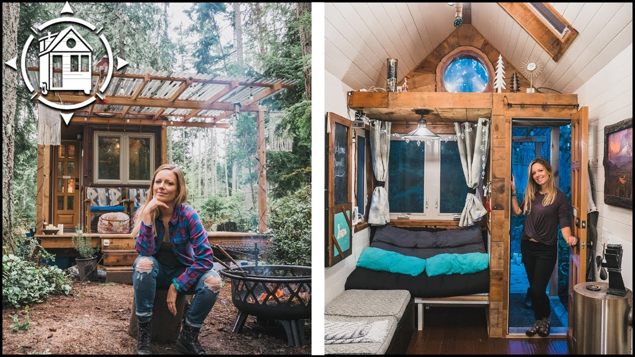"My Tiny House ""DAY IN THE LIFE"" During Coronavirus Lockdown"