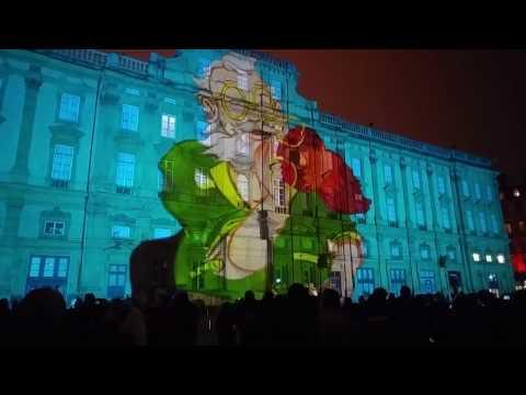 Fête des lumières Lyon 2016 -- Place des Terreaux