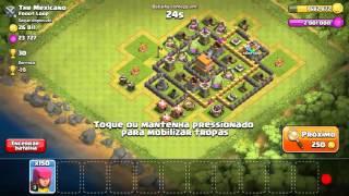 Clash of Clans -Pior ataque -Vídeo Bugado!!:-\