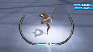 Winter Sports 2009 figure skating gameplay 5/4/17  (Winter Sports Triogy super pack)