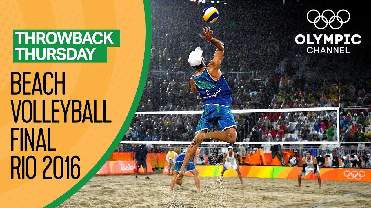 Olympics-Beach volleyball-German women pair, Norway men ...
