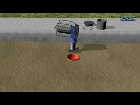Дождеприемные колодцы и канализационные люки (Wavin Rus).