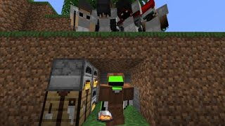 Minecraft Speedrunner VS 4 Hunters FINALE REMATCH