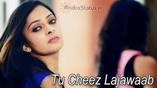Tu cheez lajawab | video status | with download link | by AndroStatus ik