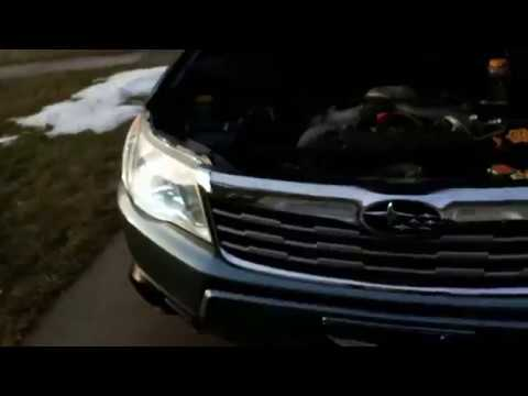 2009 Subaru Forester Led Headlight Replacement