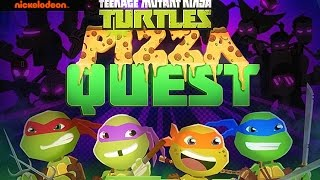 TMNT Pizza Quest playthrough / Teenage Mutant Ninja Turtles gameplay - Part 1 / nickelodeon games