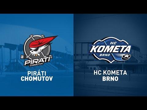 18.kolo O Pohár DHL: Piráti Chomutov Vs HC Kometa Brno