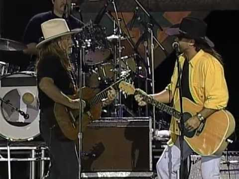 billy-ray-cyrus-with-willie-nelson---stop-picking-on-willie-(live-at-farm-aid-1997)