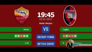 AS Roma vs Cagliari PREDICTION (by 007Soccerpicks.com)