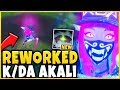 *NEW* REWORKED K/DA AKALI IS INSANELY OP! K/DA AKALI SKIN SPOTLIGHT - League of Legends