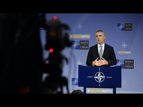 NATO Secretary General, Press Conference at Defence Minister