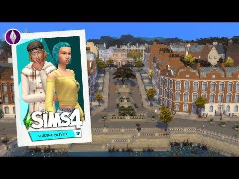 ❝Starten In Britechester Centrum!❞ 🎓 Let's Play De Sims 4 Studentenleven - Deel 1
