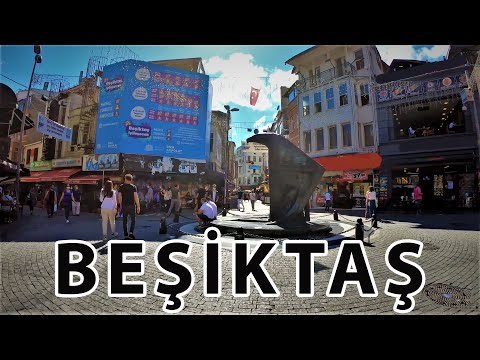 Istanbul Beşiktaş Walking Tour in 4k-Istanbul Travel Guide 2020