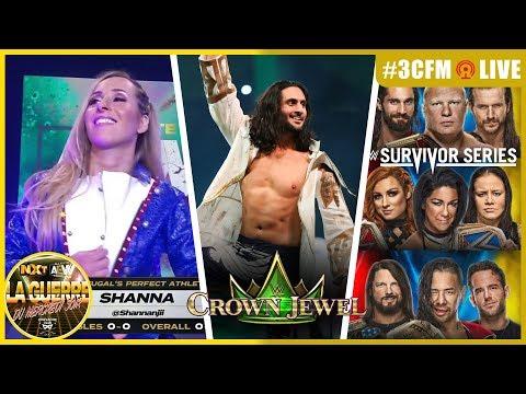 ⚠️ 3CFM LIVE ⚠️ Réaction à Crown Jewel / Première Française à AEW / NXT aux Survivor Series /