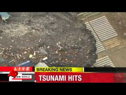 Raw Video: Tsunami Slams Northeast Japan – Associated Press