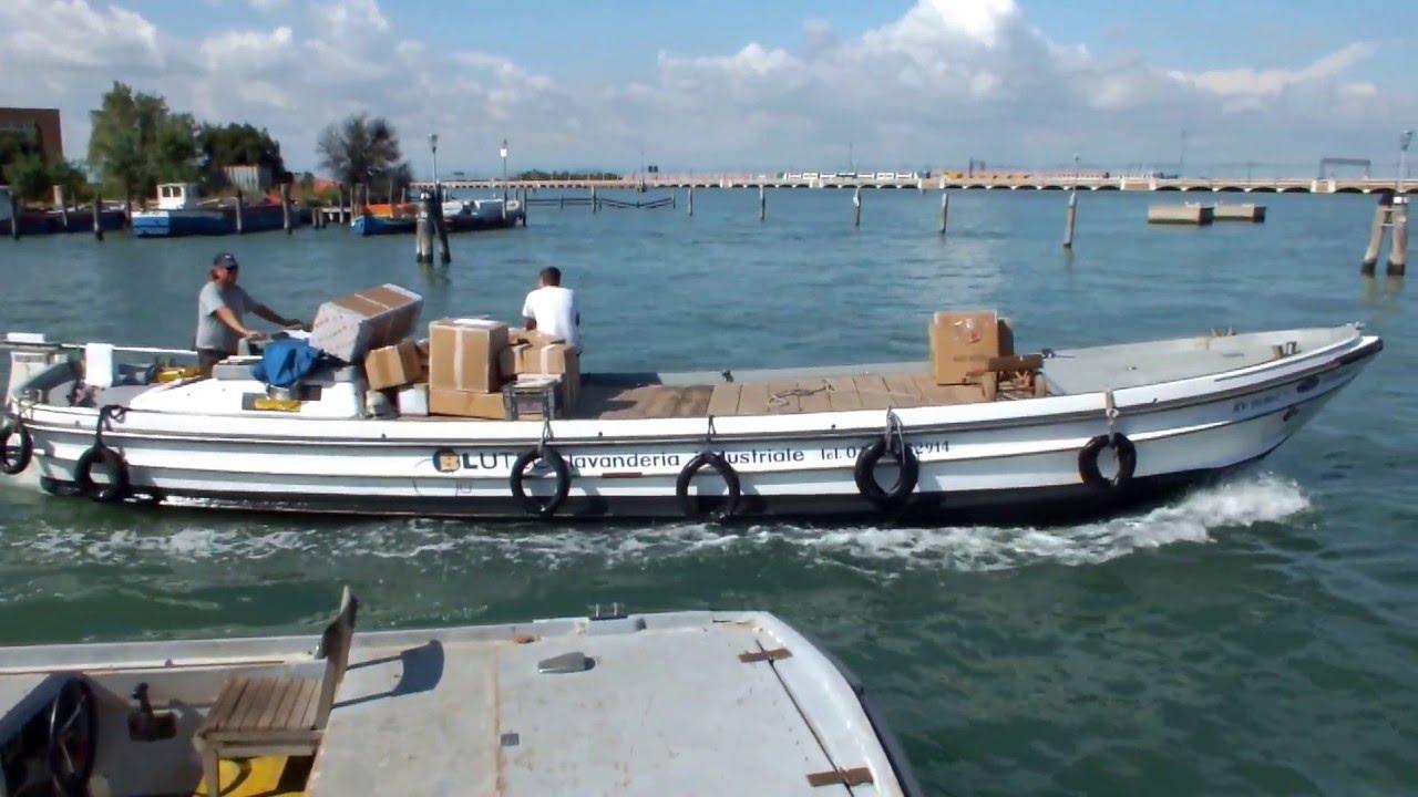 Венеция грузовой порт.