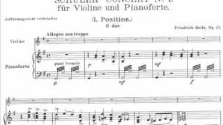 Seitz, Friedrich Pupil