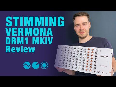 Stimming reviews Vermona DRM1 MKIV analog drum synthesizer
