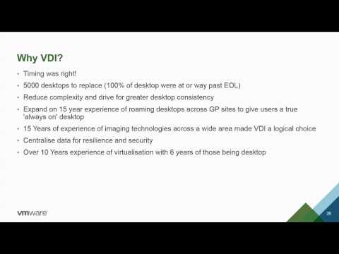 VMworld 2014 EUC1836 - Providing Point of Care Solutions that Physicians will Ask to Use