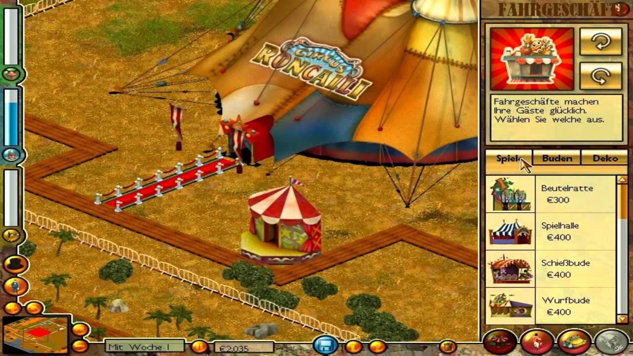 roncalli circus tycoon