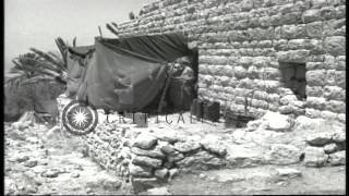 US Army Chaplain Corps soldiers in a bivouac and soldiers relaxing in Beirut, Leb...HD Stock Footage