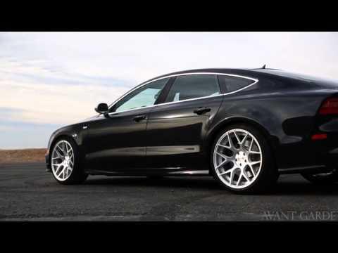 "20"" Inch Avant Garde M590 Brushed Silver Wheels Audi S7 Rims Call us"