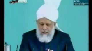 Проповедь Хазрата Мирзы Масрура Ахмада (25-12-09) часть 5