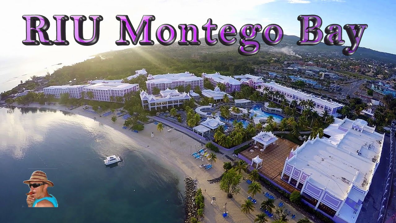 Riu montego bay jamaica aerial video youtube sciox Images