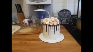 Торт Кокос Клубника 🥥 Все части в одном видео