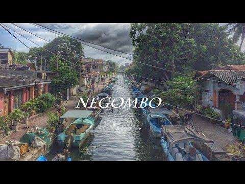 On my way to Negombo Srilanka a 19km walk