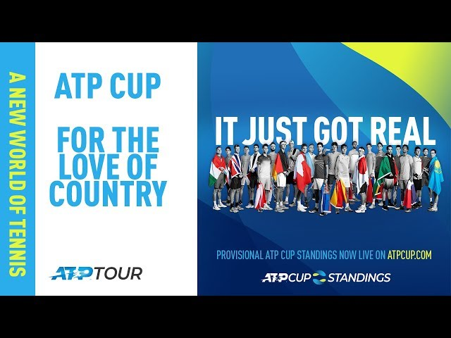 THE ATP CUP   EVERYTHING YOU NEED TO KNOW