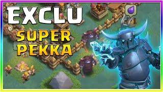 EXCLU ! Gameplay du SUPER PEKKA sur Clash of Clans !!