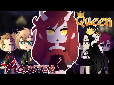 ⚜️👑 The Monster Queen 👑⚜️ GLMM || Gacha Life Mini Movie ||