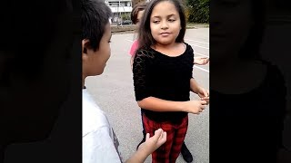 kid asks girl to be his girlfriend, goes very wrong..