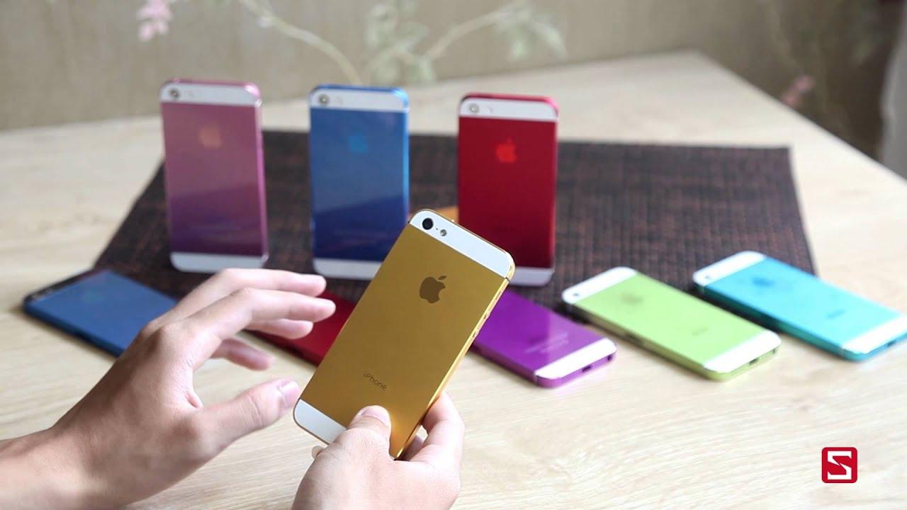 Trên tay bộ vỏ nhiều màu sắc của iPhone 5 – CellphoneS