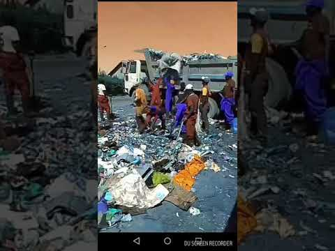 Sonko on a clean up drive of Nairobi city