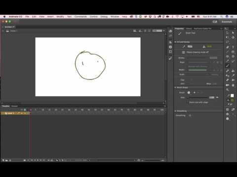 Adobe Animate CC   Frame by Frame animation tutorial