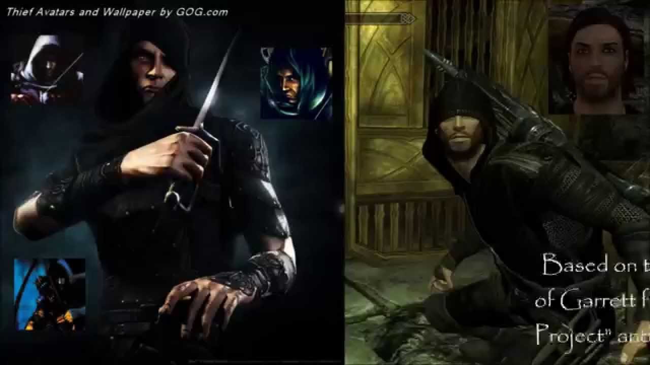 Garrett Dark Thief Follower And Sneak Trainer At Skyrim Nexus