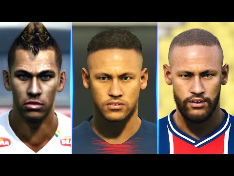 Neymar evolution from