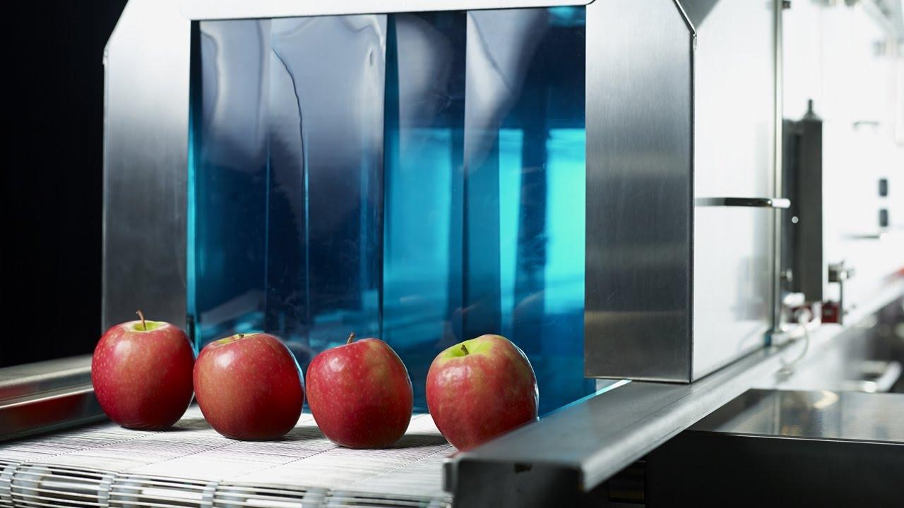 Ultraviolet light tunnel system campden bri youtube for X uv cuisine