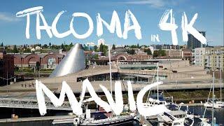 DJI Mavic Pro 4K Tacoma Waterfront Glass Museum