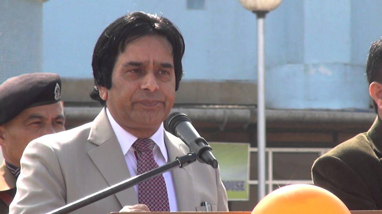 Dr A G Ahangar Director NEIGRIHMS,Republic Day 2016 Address - YouTube