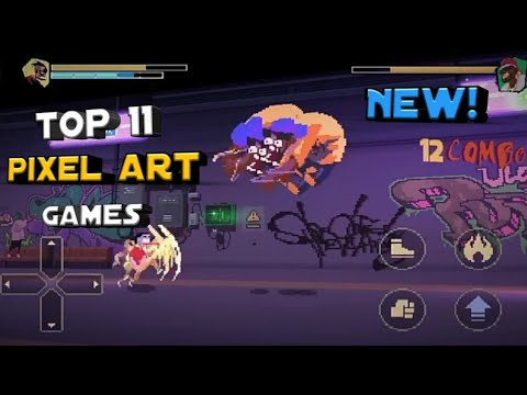 Top 11 Best Pixel Art Games For Android 2019-2020 | New Pixel Art Games |