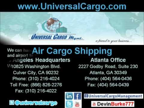 International Air Cargo Shipping by Universal Cargo Management UCM