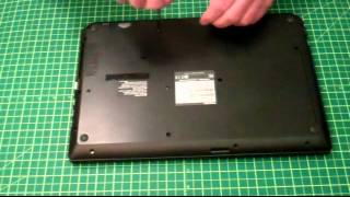 Toshiba C55-B5299 Battery Removal